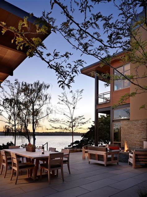 lake house two patio modern patio seattle by