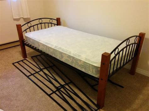 High Quality Bed Frames Bed Frame And High Quality Mattress Saanich