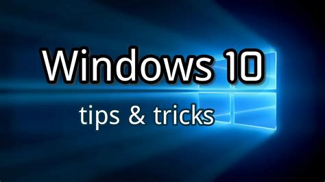 windows 10 tips and tricks updated maximum pc windows 10 tips tricks youtube