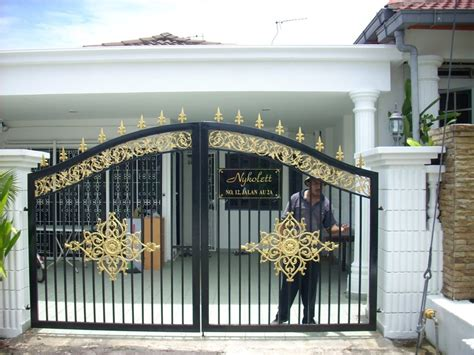 marvellous simple front gate designs and minimalist style