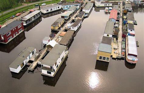 houseboat groningen woonschepenhaven in groningen the netherlands