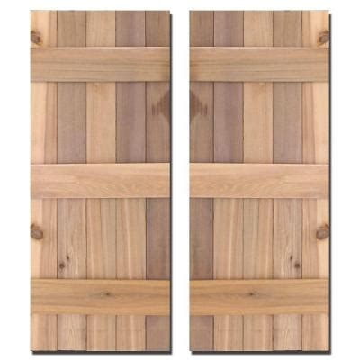 design craft millworks 15 in x 43 in cedar board