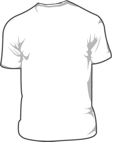 Kaos No Picture White Pd t shirt sjabloon clipart best