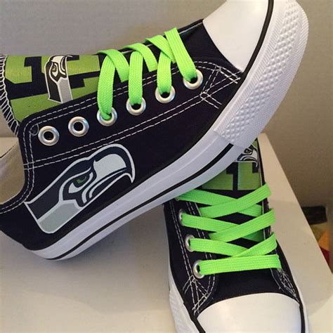 nfl shoes for fans seahawks converse shoes
