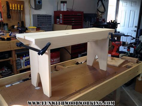 5 board bench plans wood planning new project started a modified version of a