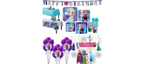 frozen party supplies party city canada