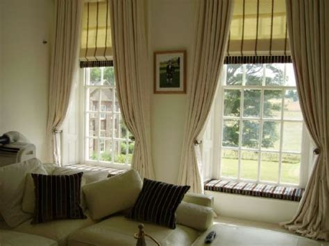 curtains with matching roman blinds mill house designs kent ltd curtains and blinds shop in