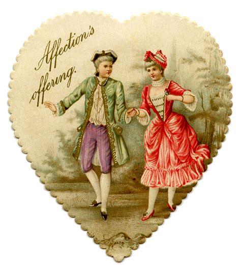 vintage printable garland with cupids