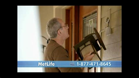metlife tv commercial dads accident ispot tv metlife tv commercial cleaning ispot tv