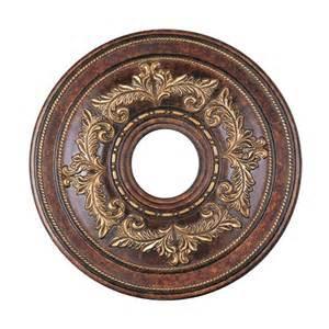 shop livex lighting verona bronze ceiling medallion at