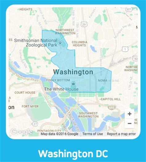 washington dc tax map free 20 via ride credit launches washington dc with 2