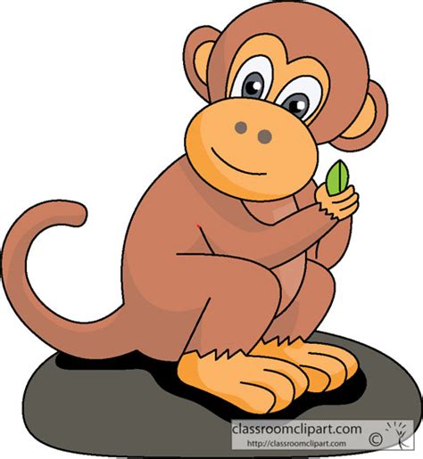 mod monkey coloring pages cartoon monkey clipart clipartxtras