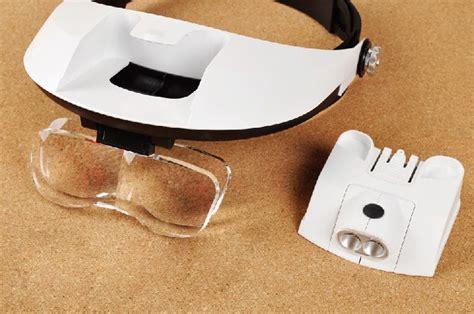 Kacamata Service Pembesar Object kacamata pembesar reparasi jam 11x magnifier 2 led black jakartanotebook