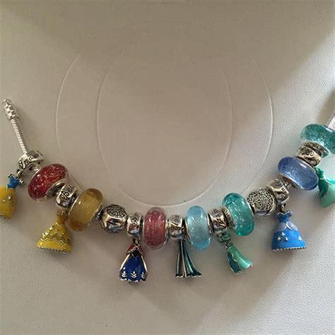 pandora pandora disney princess bracelet set of 14