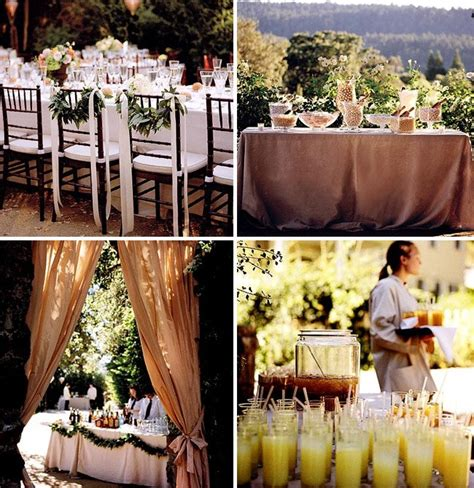 decorating backyard wedding how to throw a backyard wedding the food table decor