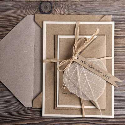 tips undangan pernikahan ramah lingkungan tips