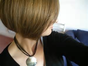 hair styles with front and stacked back short bob hairstyle back view