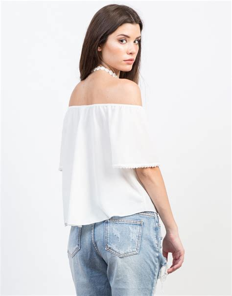 Oversized Blouse Jumbo Piya Flowy all dolled up flowy top the shoulder top flowy chiffon top 2020ave