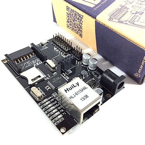 Iboard W5100 iboard w5100 ethernet module for arduino development board with xbee