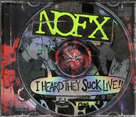 Vinyl Nofx I Heard They Live Lp nofx i heard they live album cd records