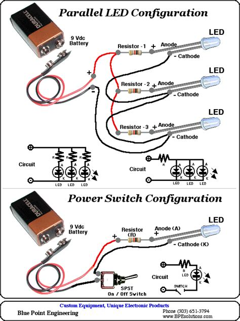 how to calculate resistor led bpe led resource information calculator