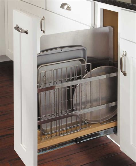 pull out trays for cabinets tray divider pull out kitchen