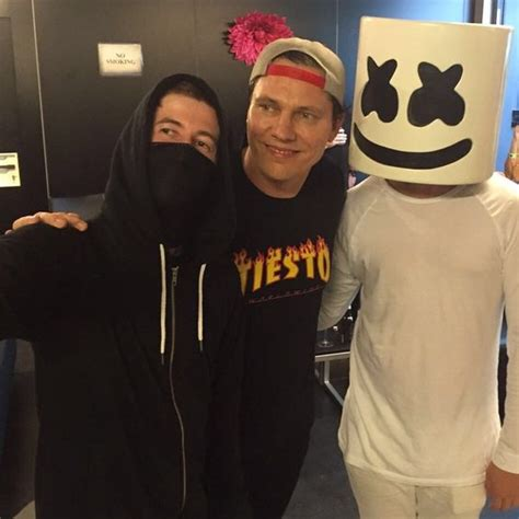 alan walker x marshmello alan with ti 235 sto and marshmallow at tomorrowland alan