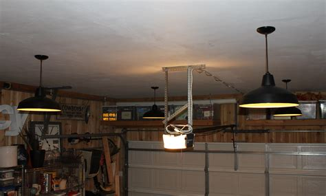 garage ceiling with new pendants garage ceiling lights