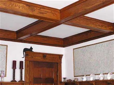 boxed ceiling beams box beam