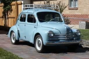Renault 4cv For Sale Best We Ve Seen 1962 Renault 4cv Bring A Trailer