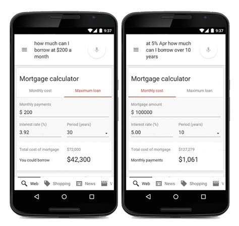 housing mortgage calculator google launches built in mortgage calculator 2015 02 03