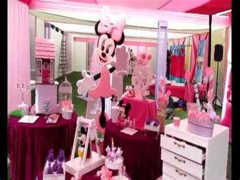 decoracion fiestas infantiles youtube decoracion de fiestas infantiles minnie 3493291 decoazul