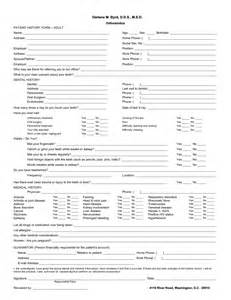 patient history template best photos of dental patient history form template