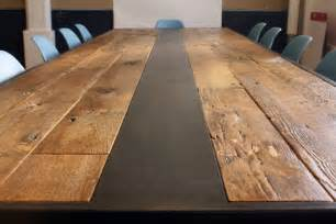 How To Make A Reclaimed Wood Dining Table Reclaimed Wood Table Modern Dining Tables New York By