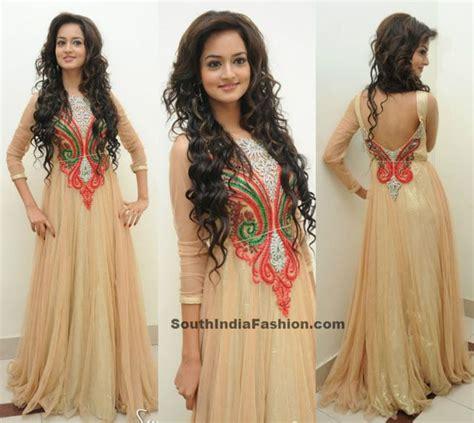 floor length ghera gown shaanvi in floor length anarkali sarees