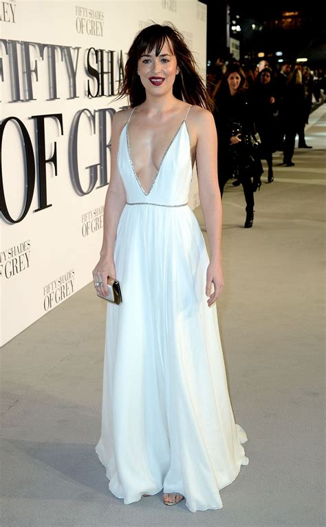 fifty shades of grey film premiere london dakota johnson fifty shades of grey premiere in london