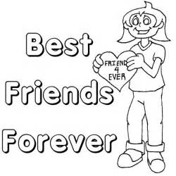 bff colouring pages