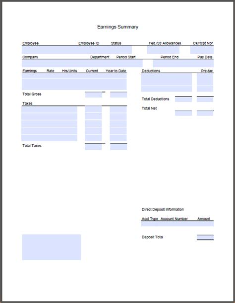 paycheck stubs template 8 pay stub template pdf timeline template