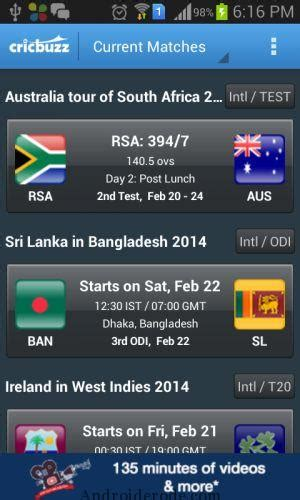 crickbuzz apk cricbuzz best android application for live cricket updates
