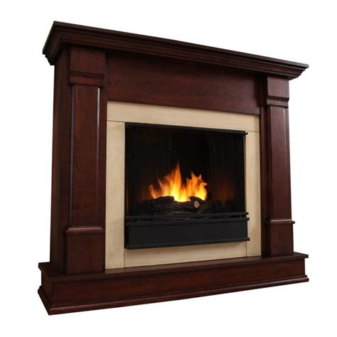 Flameless Fireplaces by Real Silverton Ventless Gel Fireplace