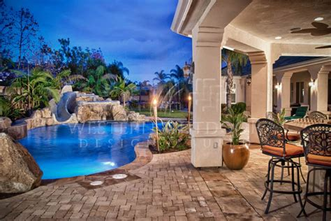 pool with outdoor living designs pool with outdoor living custom pools spas rockscape type pools and spas gallery