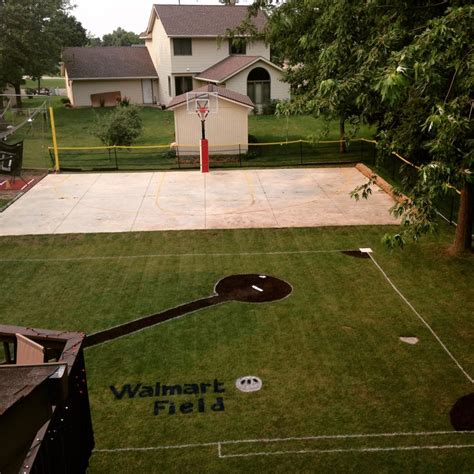 backyard wiffle ball walmart field wiffle 174 ball field of the month