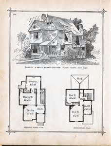Victorian Cottage House Plans by