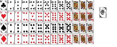 Deck Of Cards Template by Deck Of Cards Images Www Imgkid The Image
