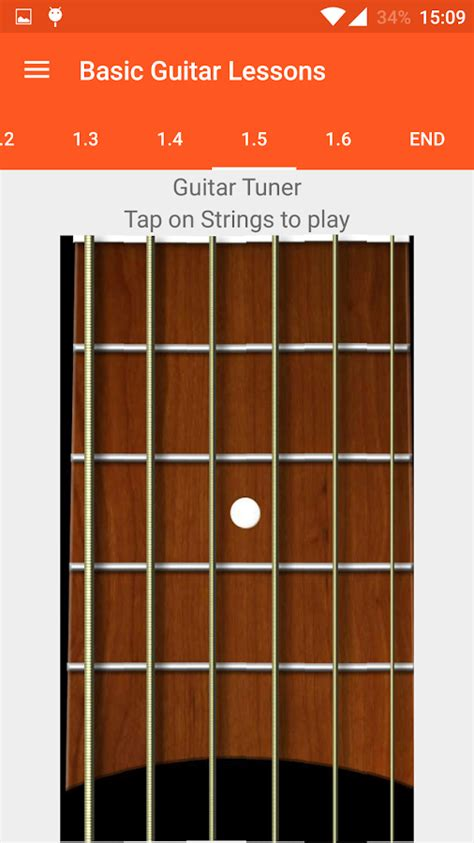 guitar tutorial app basic guitar lessons android apps on google play