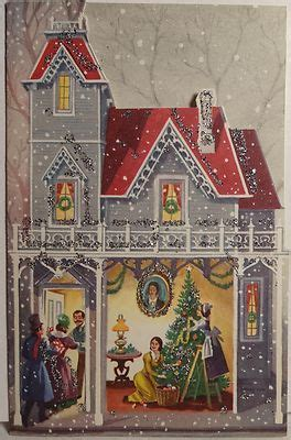 country christmas  wendy zarate vintage christmas cards vintage christmas greeting cards