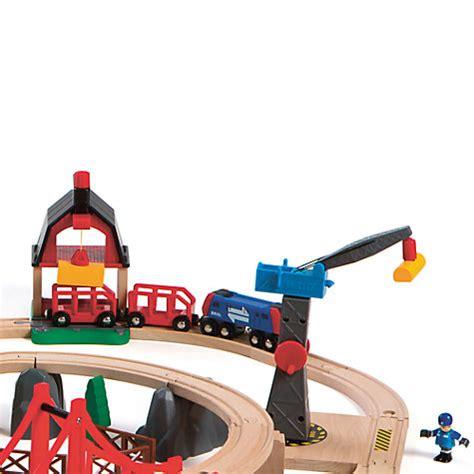 buy brio train set buy brio railway world deluxe set john lewis