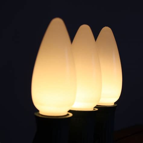 opaque lights warm white c9 opaque led bulbs