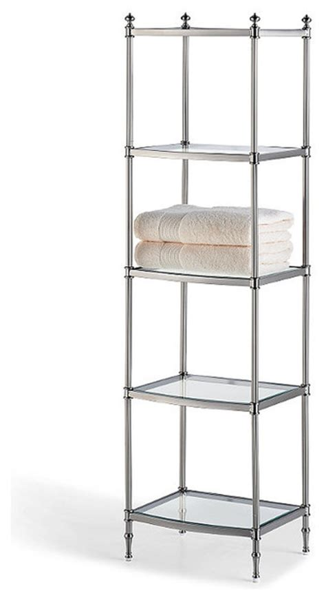 Bathroom Etagere by Belmont 5 Tier Etagere Traditional Bathroom Cabinets