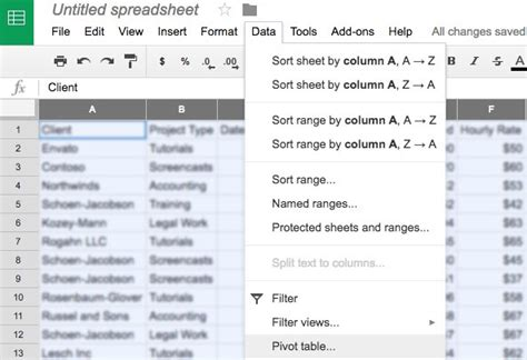how to use pivot tables in sheets ultimate guide